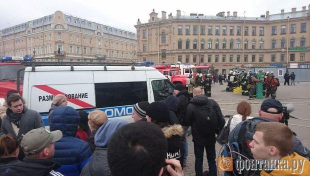 Метро, Санкт-Петербург, теракт