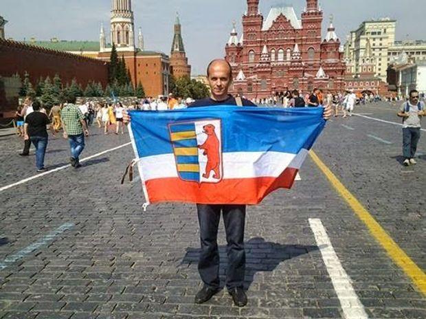 Петро Гецко у Москві