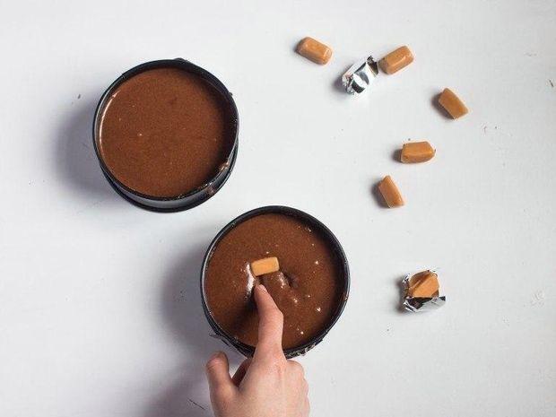 Великодній шоколадний фондан