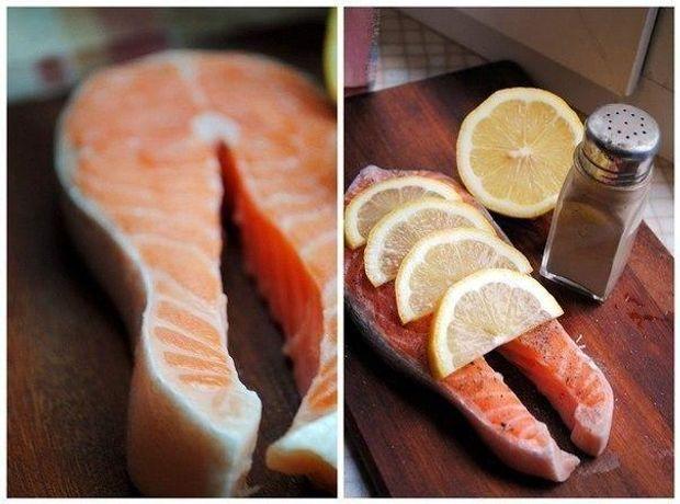 Великоднє меню: запечений лосось