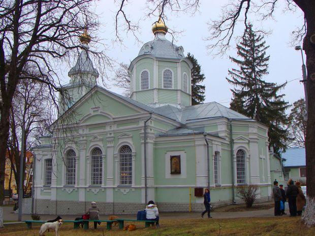 Пуща-водиця, храм Серафима Саровського