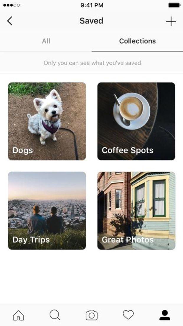 как добавить в сохраненные фотографии свои фото