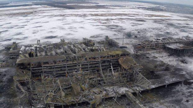 Нове фото Донецького аеропорту