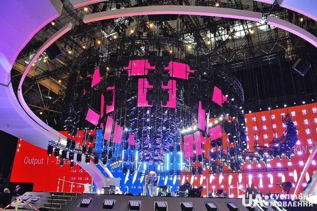 Головна сцена Євробачення-2017