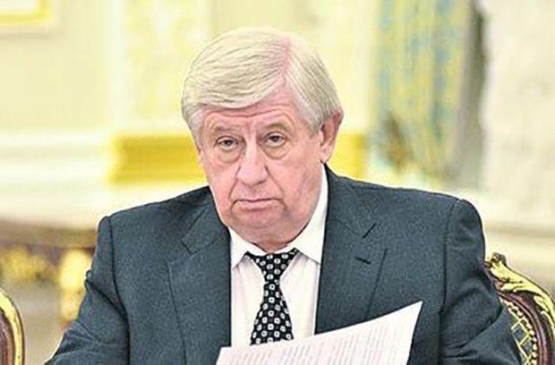 Суд відмовився розглядати позов Шокіна