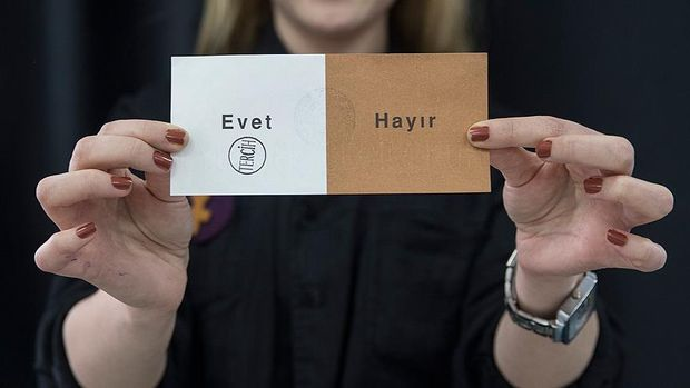 Голосування на референдумі у Туреччині