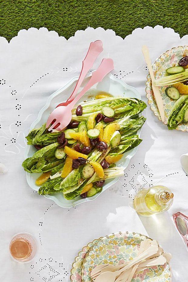 Что приготовить на пикник: апельсиновый салат с оливками