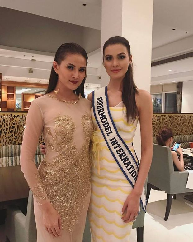 Українка Олена Сподинюк завоювала перше місце у конкурсі Supermodel International.