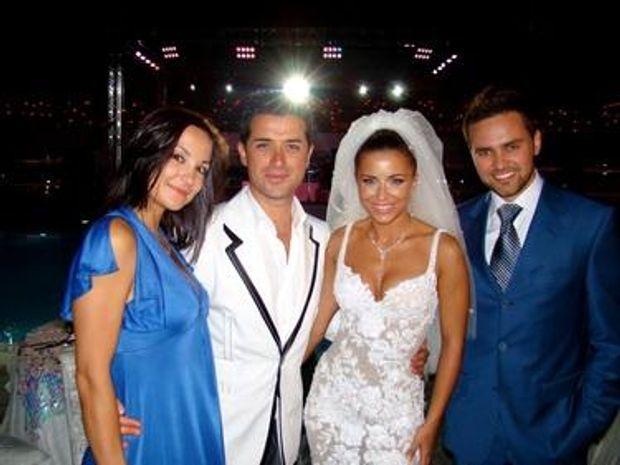 Тимур Мірошниченко на весіллі Ані Лорак