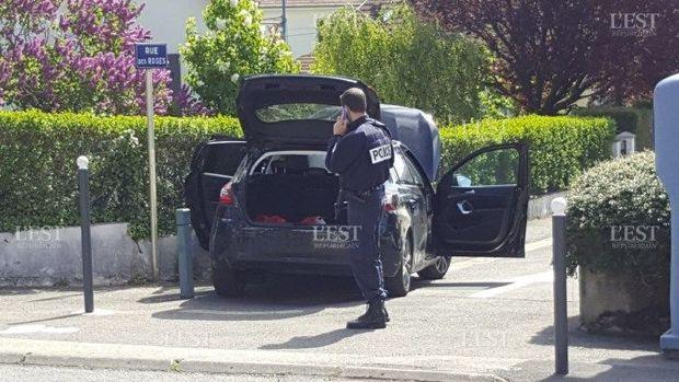 У викраденому автомобілі була гвинтівка