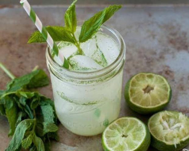 Рецепт мятного лимонада на пикник