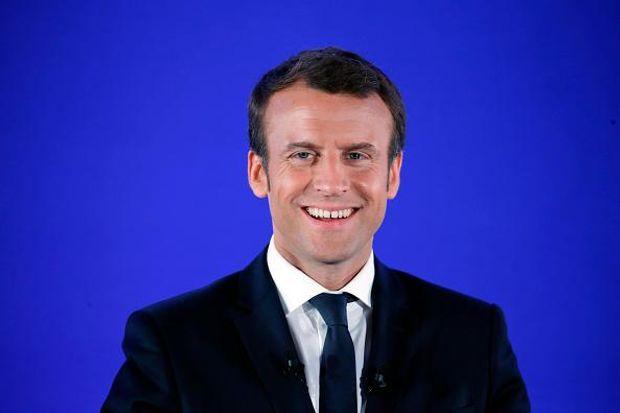 Макрон став наймолодшим кандидатом в президенти Франції