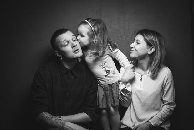 Галич із сім'ю