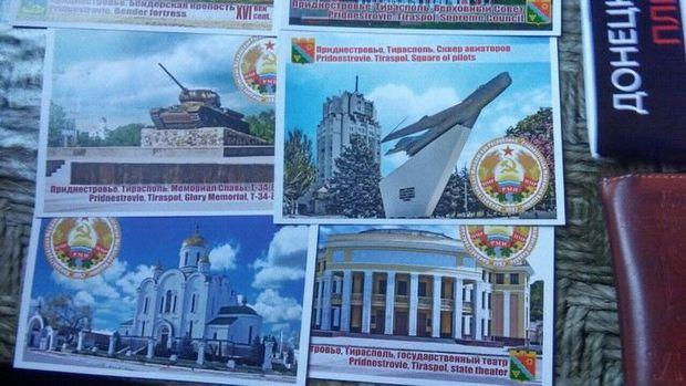 Росіянин мав пропагандистські листівки