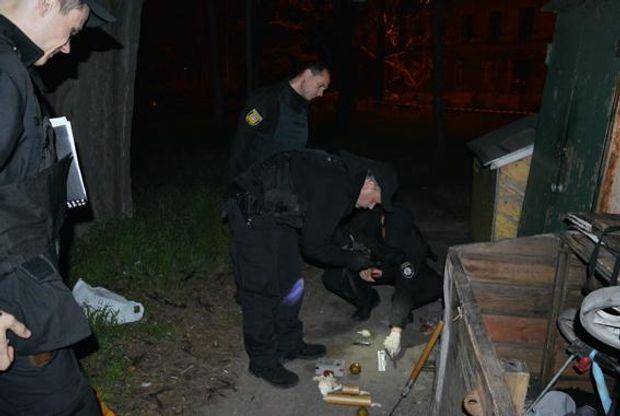 В Одесі знайшли рюкзак з вибухівкою