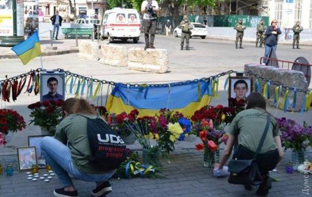 В Одесі вшанували загиблих під час сутичок 2 травня 2014 року