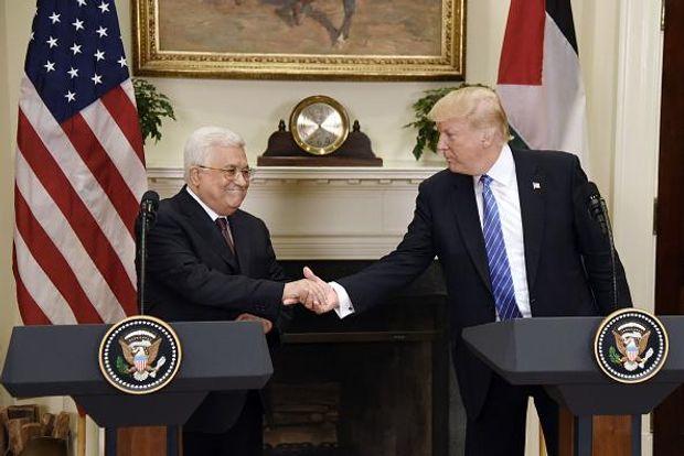 Дональд Трамп зустрівся з Махмудом Аббасом
