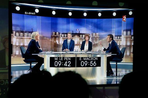 Макрон і Ле Пен провели теледебати