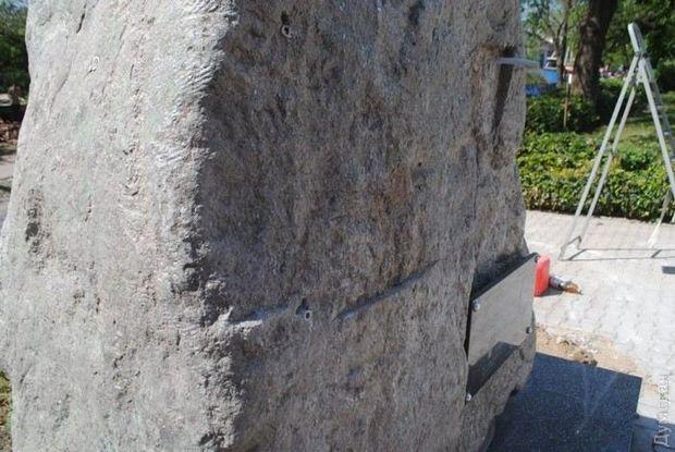 На Одещині понівечили пам'ятник воїнам АТО