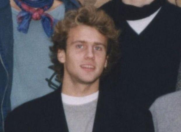 Еммануаль Макрон під час навчання в школі