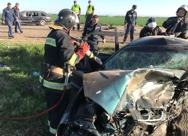 В аварії на Одещині загинуло 5 людей
