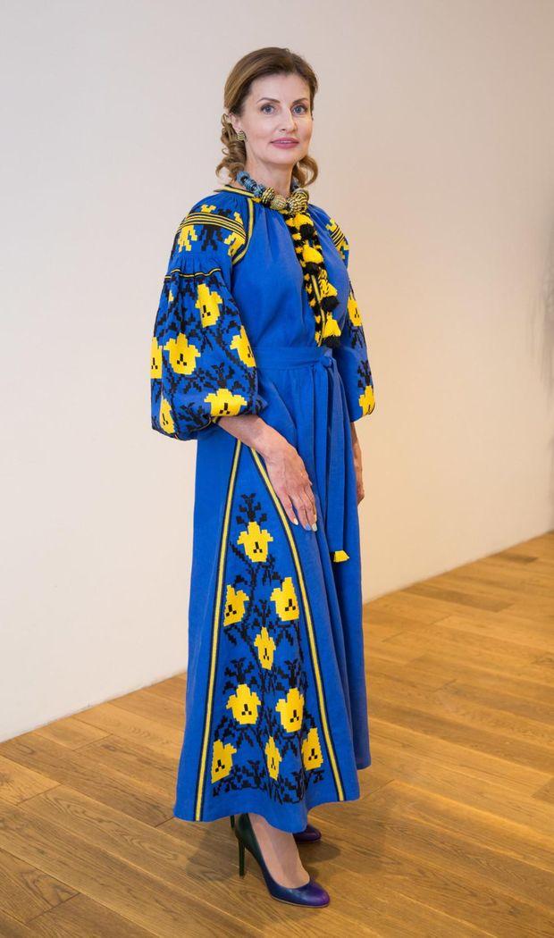 Марина Порошенко на відкритті Євробачення