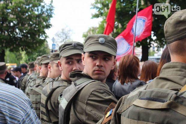 Нацгвардія задіяна у акціях в Запоріжжі