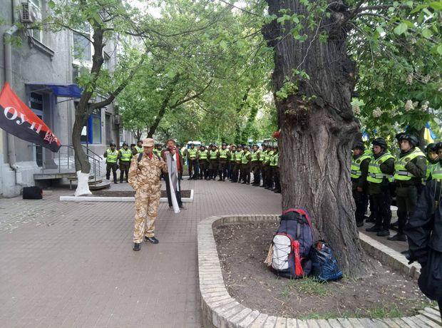 Поліція очепила штаб ОУН