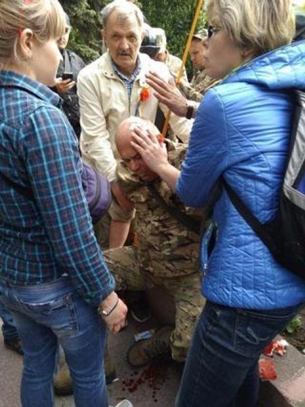 У Дніпрі побили ветеранів АТО