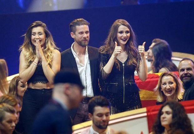 «Євробачення-2017»: Коханий освідчився вагітній представниці Македонії упрямому ефірі