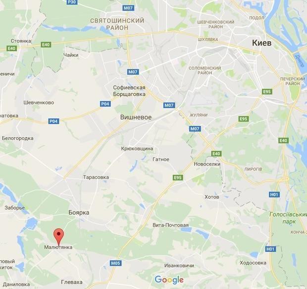 Малютянка, Київ, вибух