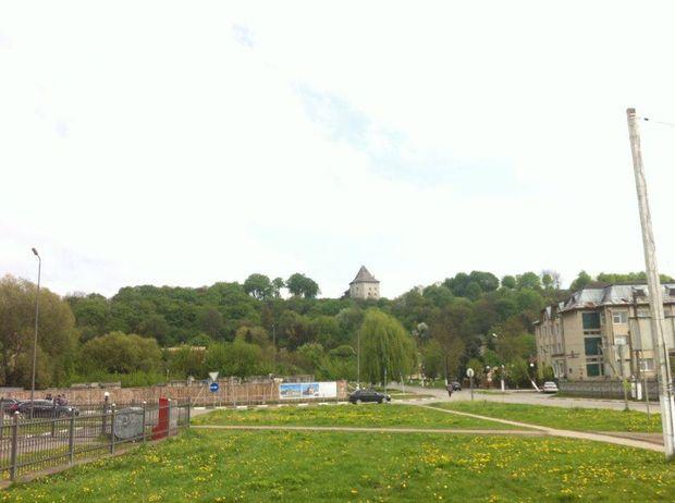 Галич: вежа на Замковій горі