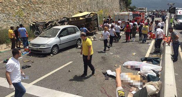 Аварії в Туреччині: загинуло 20 осіб