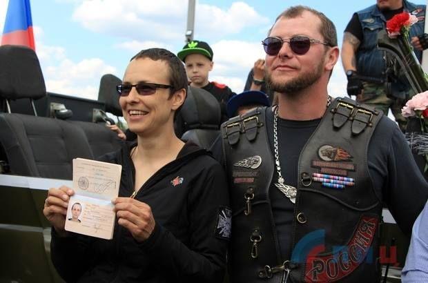 Співачка Ю.Чичеріна отримала паспорт «ЛНР»