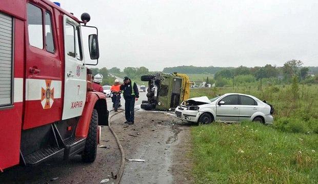 ВДТП наокраине Харькова 4 человека погибли, 2 пострадали