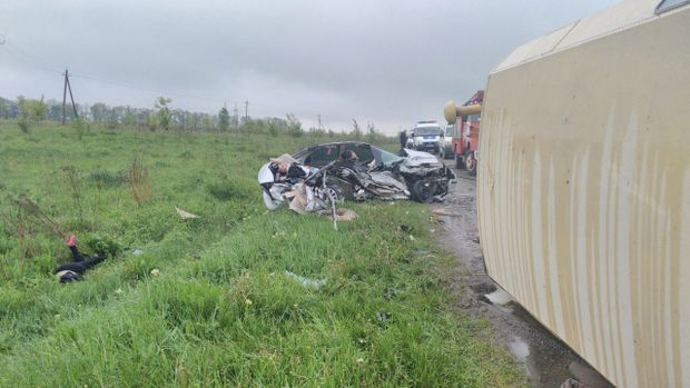 В аварії під Харковом загинуло четверо осіб