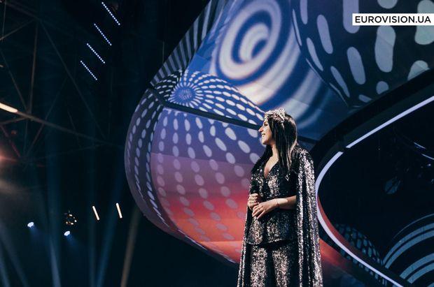 Джамала на сцені Євробачення-2017