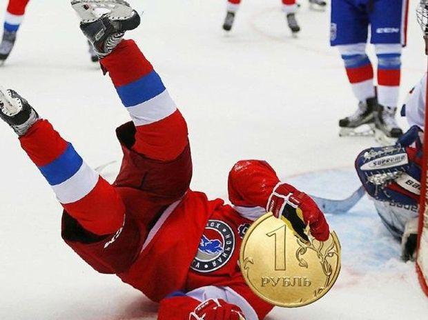 Путін впав, як рубль