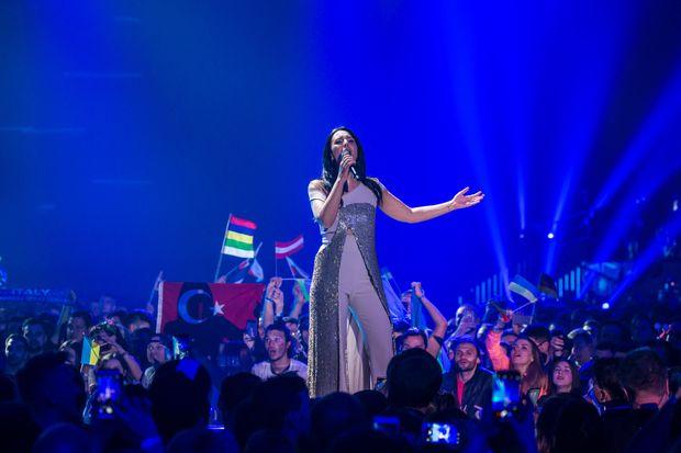 Виступ Джамали у фіналі Євробачення-2017