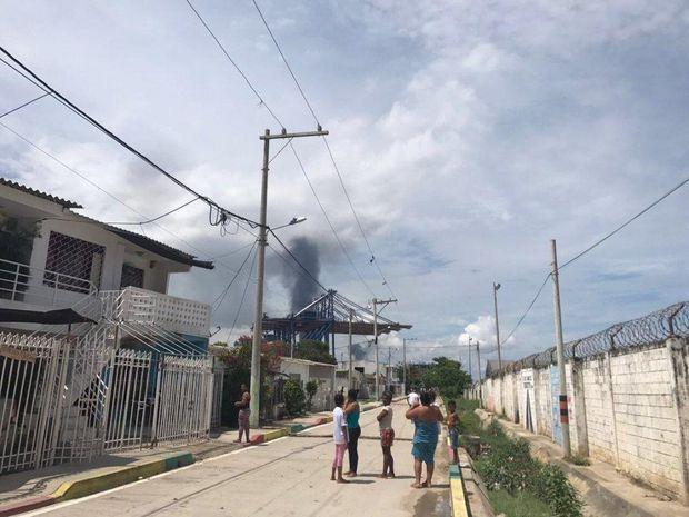 Уколумбійському порту сталася серія вибухів, є загиблі