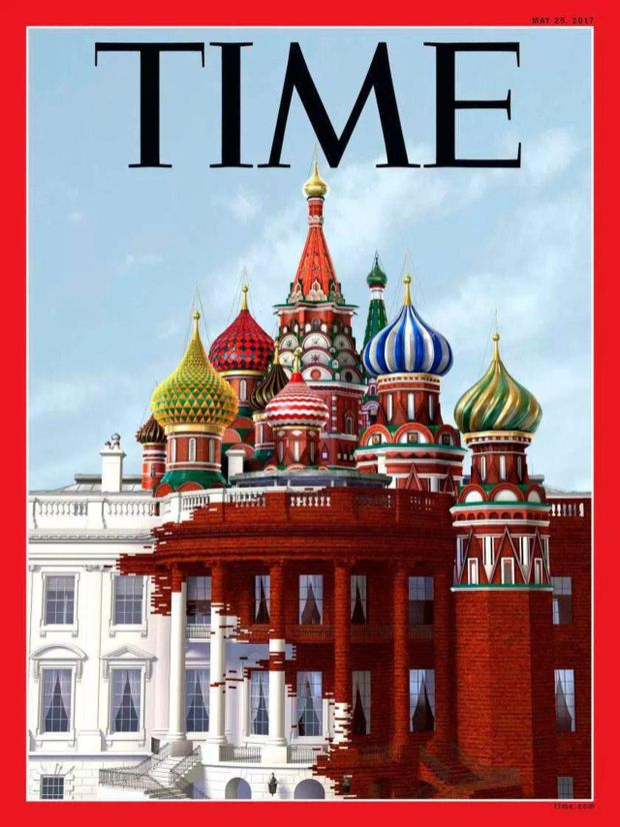 Обкладинка травневого номера журналу Time