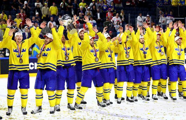 Хоккей, Швеция, Канада, ЧМ