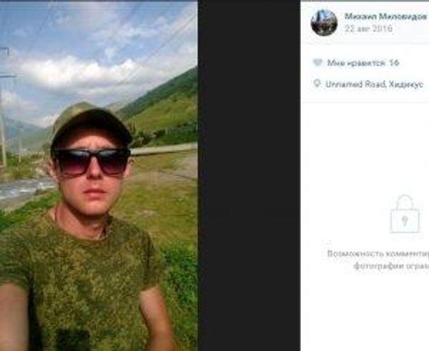 Російський військовий воює на Донбасі під виглядом бойовика