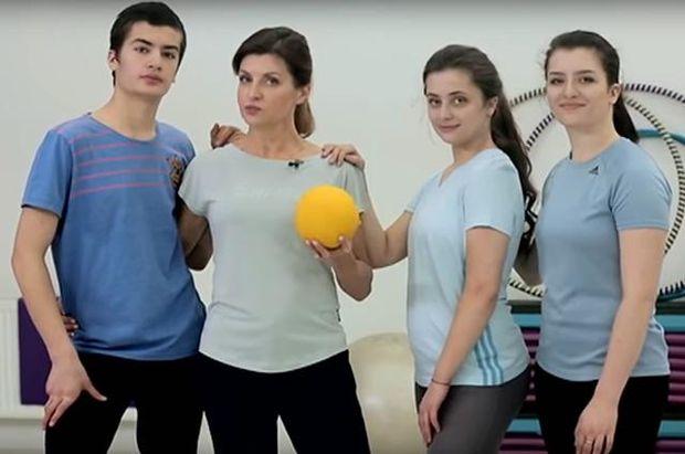 Марина Порошенко з дітьми провела ранкову зарядку