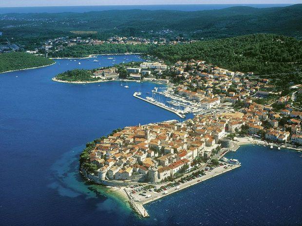 Острів Корчула у Хорватії