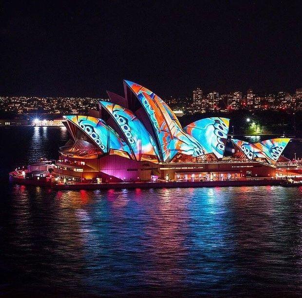 Фестиваль світла  Сіднеї