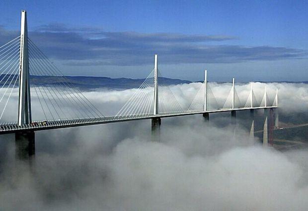 Міст Віадук Мійо, Франція