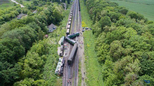 Зіткнення потягів на Хмельниччині