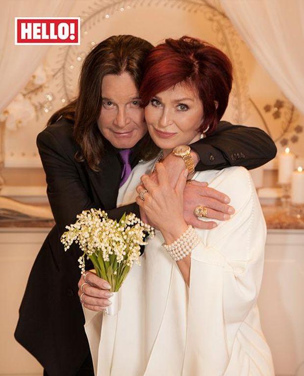 Оззі та Шерон Осборн після повторного вінчання