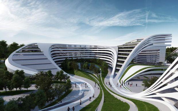 Багатоцільовий комплекс Beko Masterplan в Белграді